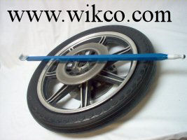 Large Custom Wheel Bar For Chrome, Aluminum, And Painted Mag Wheels On Cars, Pickups, And Motorcycles