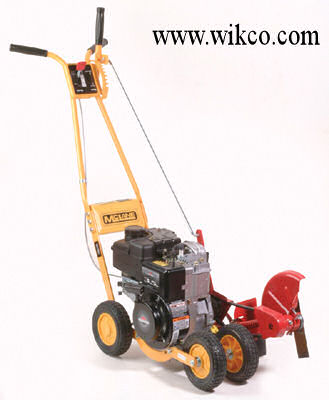 Trim-N-Edger gas powered edger/trimmer with four 7 inch wheels and a 4.75 HP Briggs And Stratton Engine
