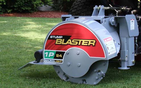 WL1P24 PTO Powered Stump Grinder - No Hydraulics Required