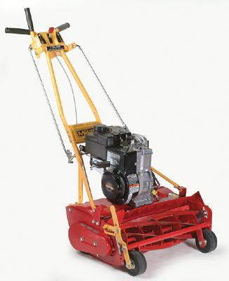 20 Inch Wide Self-Propelled Model With 4.75 HP Briggs And Stratton Engine, Available With Either 7 Or 10 Blade Reel