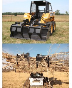 Skid Steer Mount, Contractor Series Add-A-Grapple