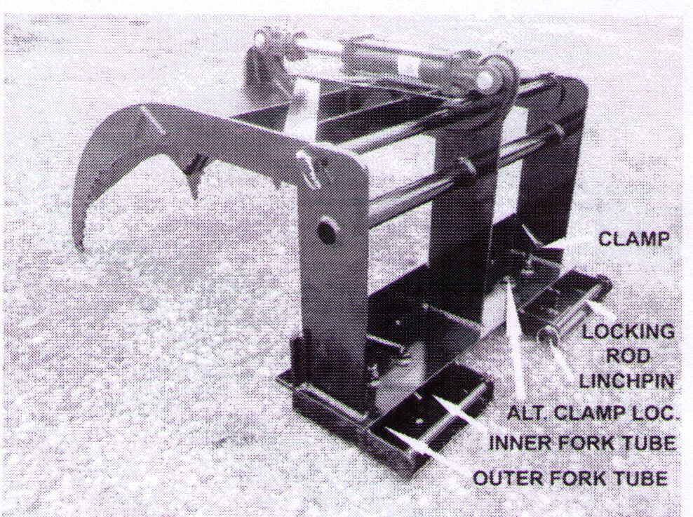 Pallet Fork Style Add-A-Grapple Model 336S27, Available From www.wikco.com
