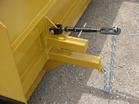 Clamp-On Push Plow, Clamps To Your Skid Loader Or Tractor Loader Bucket, Easy On/Off