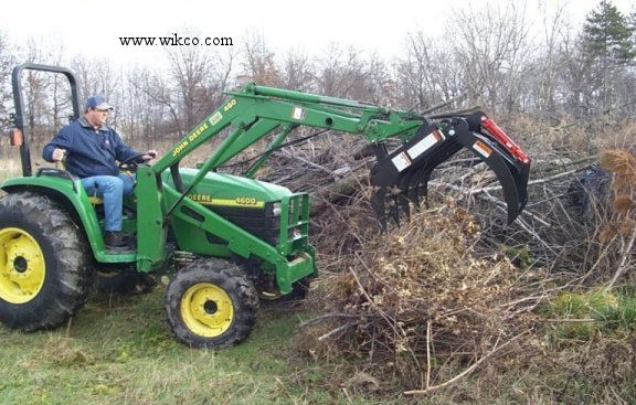 Grapple For Compact Tractors