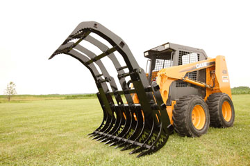 Double Grapple Contractor Model Grapple Rake In 58, 72, And 85 Inches Wide