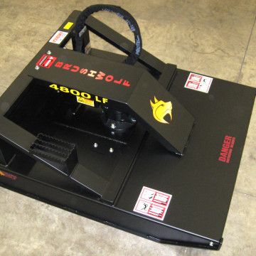 Model 4800LF Skid Steer Mount Brush Cutter