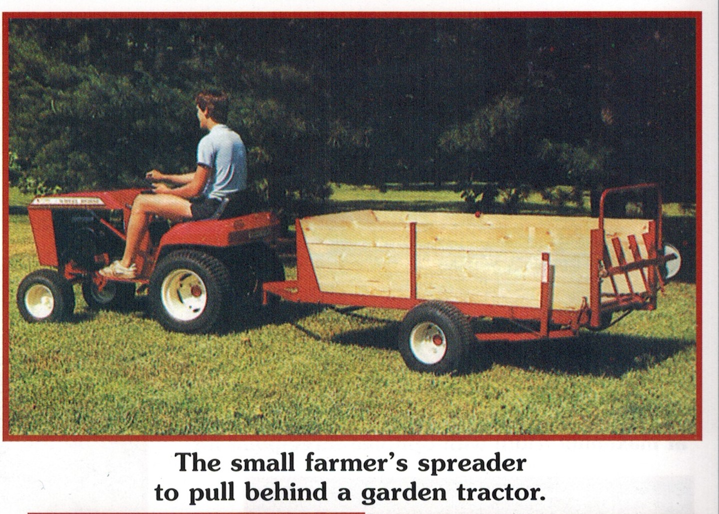 Model 600 Estate Mighty Spreader