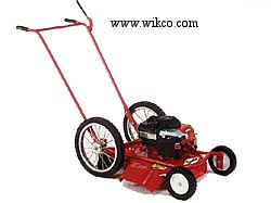 Model 621-2 Push Type High Wheel Mower With 22 Inch Side Discharge Steel Deck