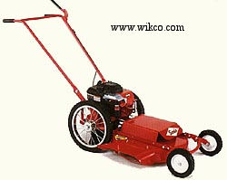 Model 622 High Wheel Push Type Mower With 21 Inch Steel Cutting Deck