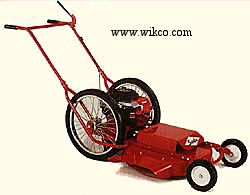 Model 624 Gas Powered 24 Inch Wide High Wheel Mowers - Push Models