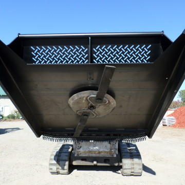 Model 7201 Open Front Model 72 Inches Wide, Brush Wolf, Skid Steer Mount