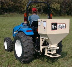 Model KA750 Three Point Hitch Mount/PTO Powered Broadcast Seeder
