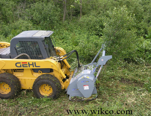 Skid Steer Mounted Brush Mulcher