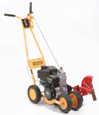 Trim-N-Edger gas powered edger/trimmer with four 8 inch wheels and a 4.75 HP Briggs And Stratton Engine