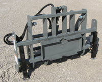 WOMGU-48 Grapple Designed For Mini-Skid Loaders W/Universal mini-mount And Bobcat MT Series