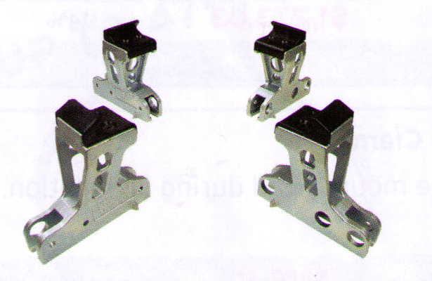 Tall Motorcycle Clamps For Coats 5000 Series Tire Changers