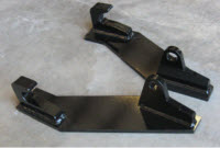 Model 832630 Euro/Global Weld-On Bracket Set