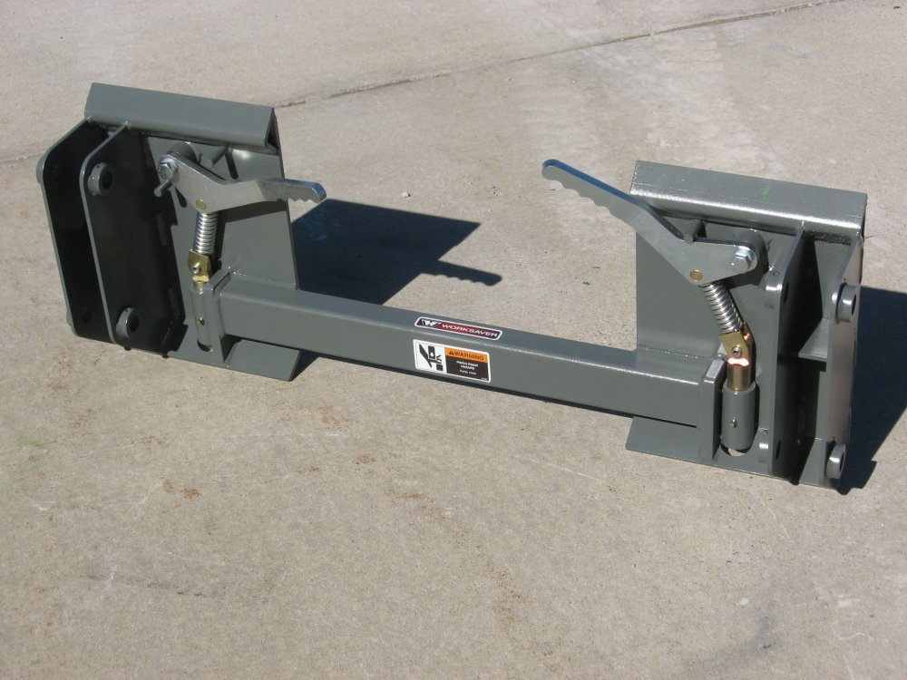 Adapter Plate 832810 For Kubota LA series Loaders