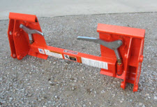 Adapter Plate For Kubota LA852 To Connect To Skid Steer Equipment