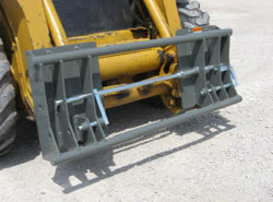 Model 835020 Adapter Plate Mounts On Skid Loaders (Universal Quick Attach) And Front Side Connects To Implements With Euro/Global Bucket Connection)