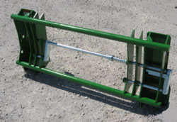 Connects To John Deere 400/500 Tractor Loaders, Allows Use Of Euro/Global Attachments