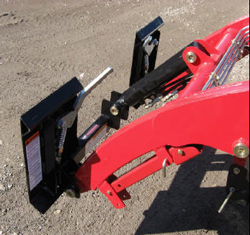 Adapter Plate For Mahindra Emax 22L, 25L Loader And TYM TX-25
