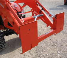 Adapter Plate For Kubota LA504 And LA534 Loaders To Skid Steer