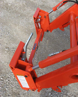 Adapter Plate To Connect To Kubota LA524 And LA525 Tractor Loaders To Skid Steer Connection