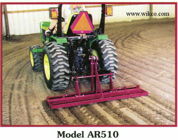 Arena Ripper 3 Pt. Hitch Arena Scarifier Tool