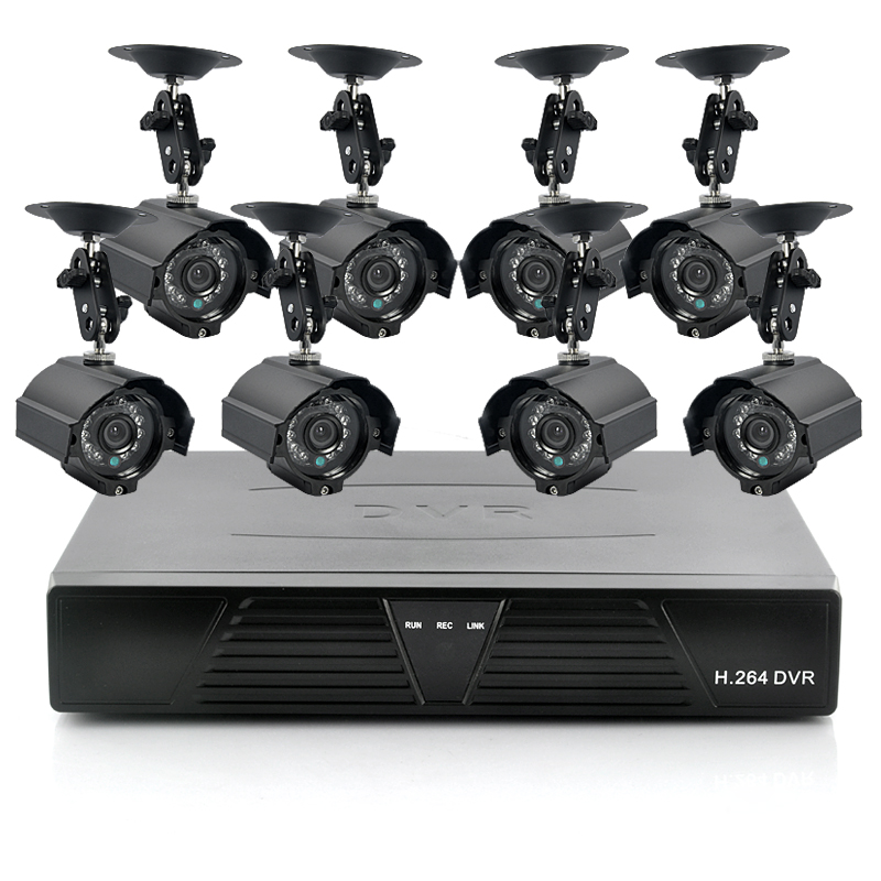 Complete Systems With Cameras And DVR's