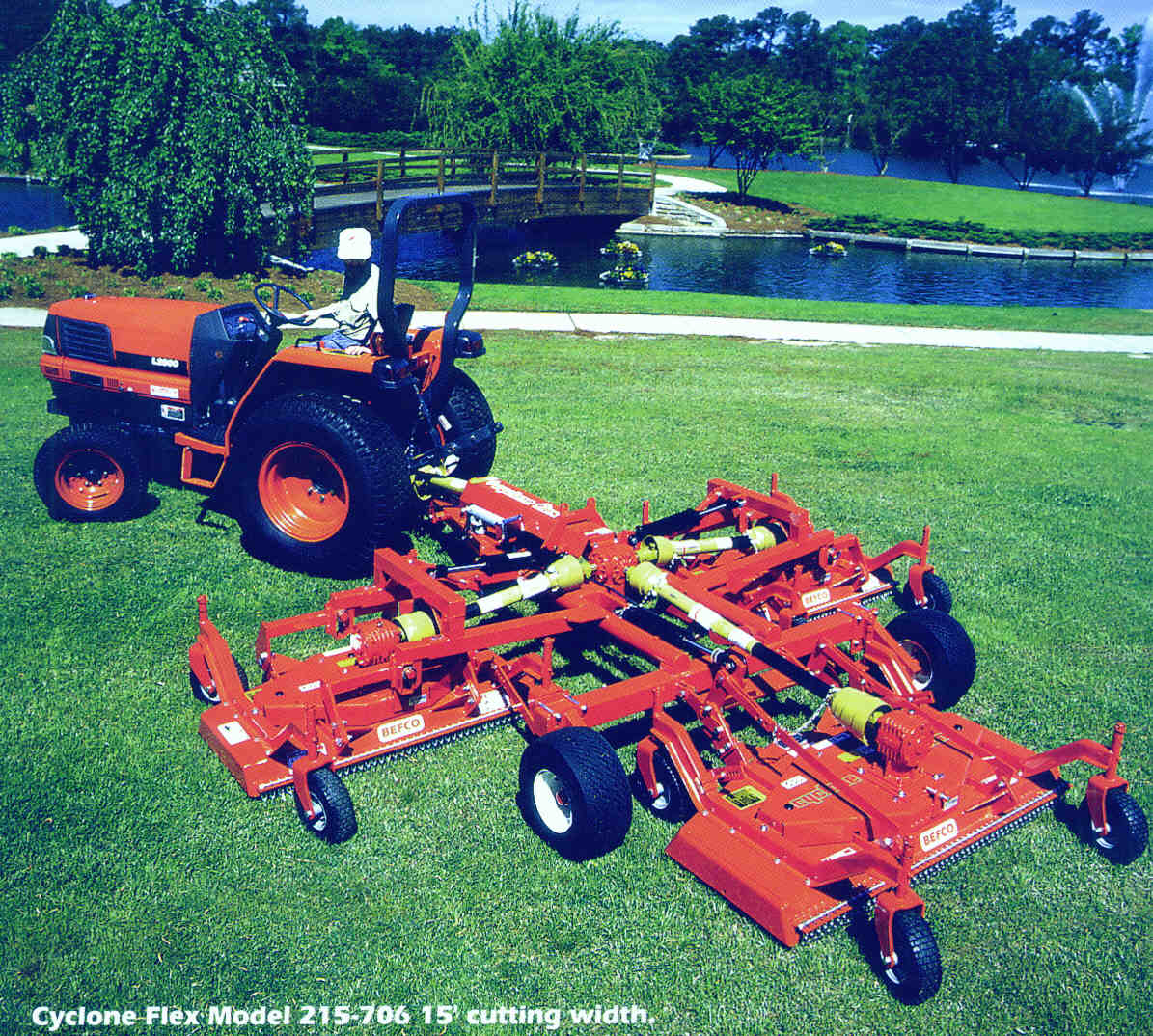 Cyclone Flex Mowers