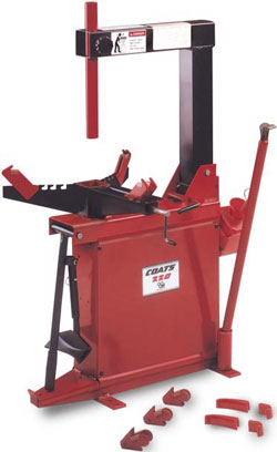 Coats Manual Motorcycle Tire Changer