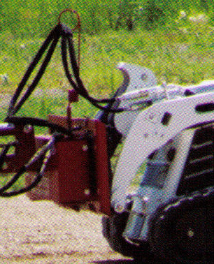Mounting Plate For Small Walk Behind/Ride On Loaders Such As Bobcat MT55 Or Similar)