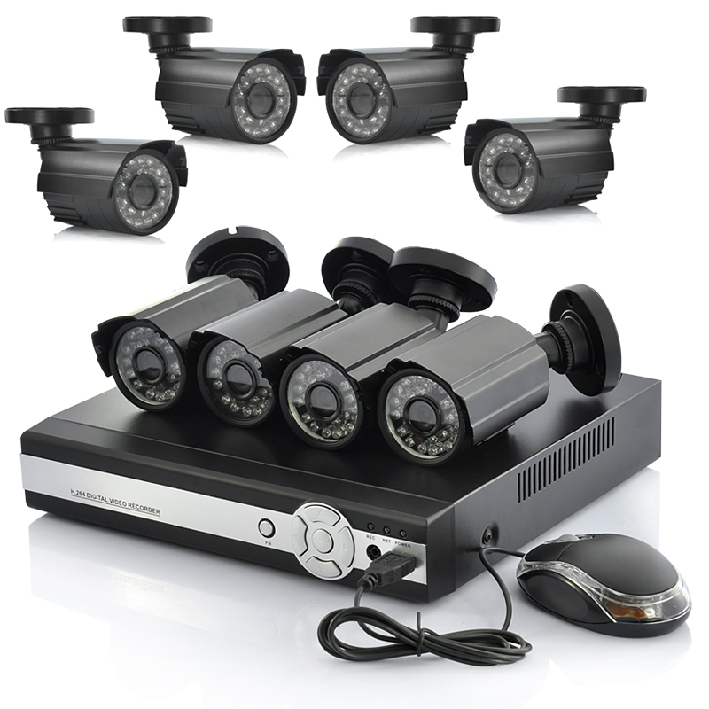 Come Systems With Cameras And DVR's
