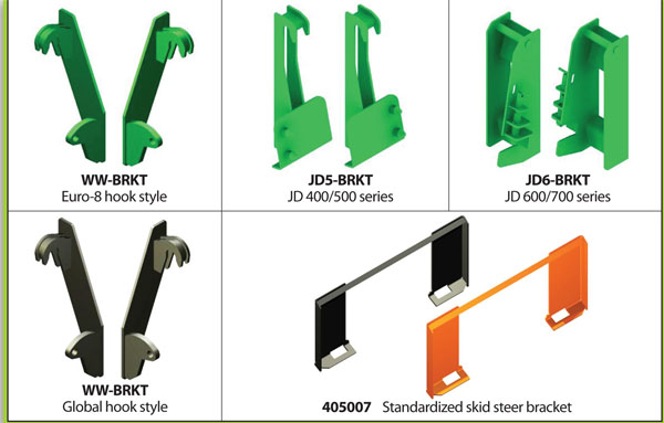 Available Factory Adapter Brackets