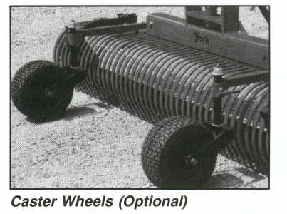 Castor Wheels Option