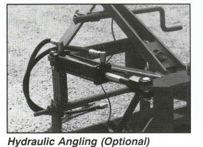 Hydraulic angle option