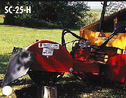 SHSC-25-H Mini-Stumpbuster Skid Steer Mount Stump Grinder