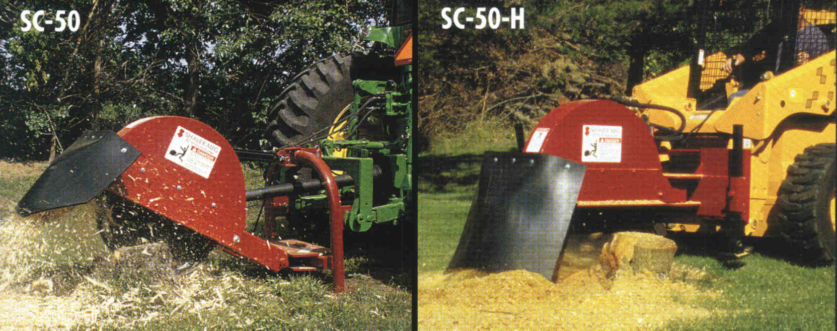 Available In Tractor Or Skid Steer Versions