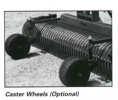 Caster Wheels Option