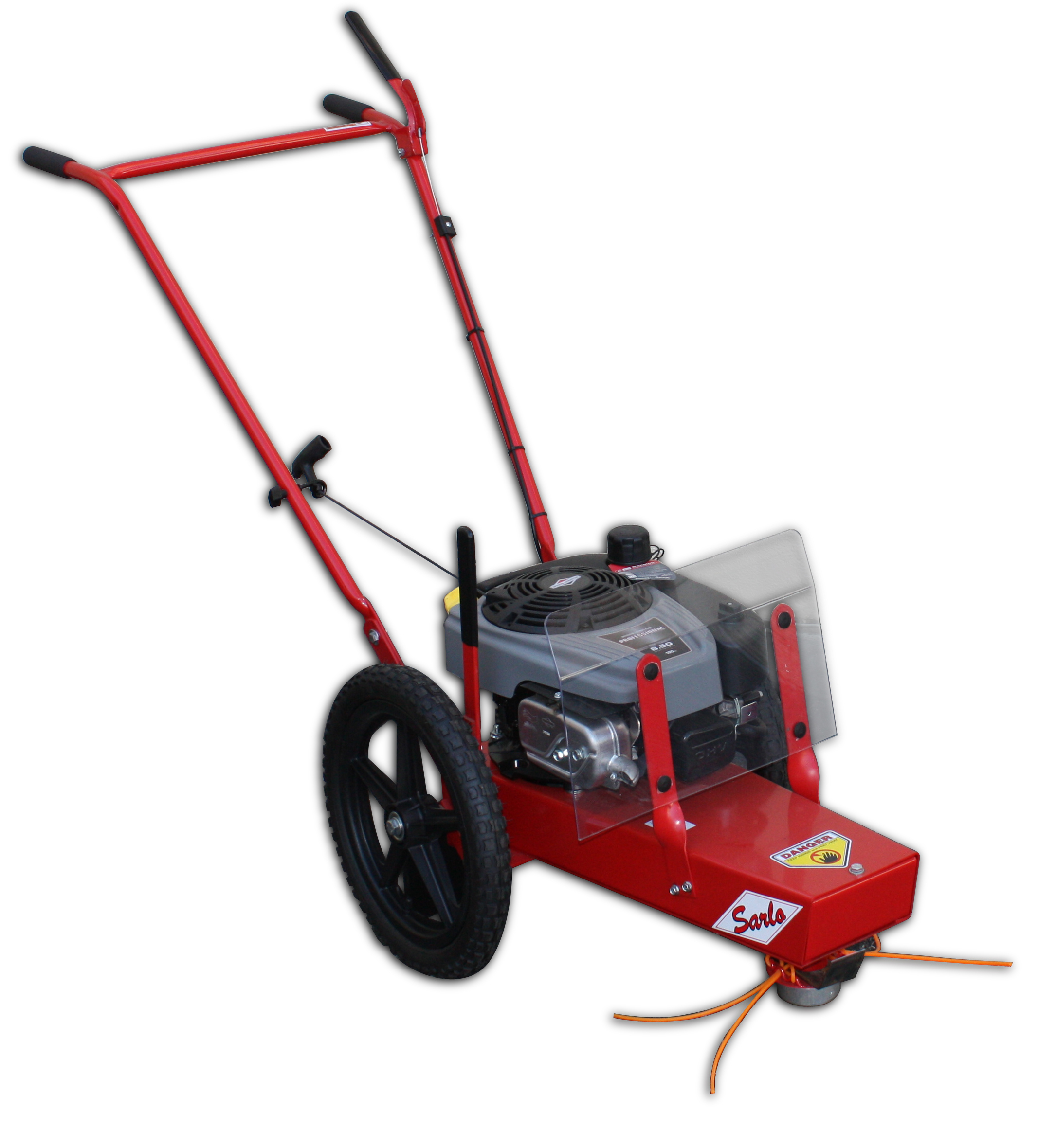 Walk Behind Push String Trimmer With Briggs And Stratton 190cc Engine