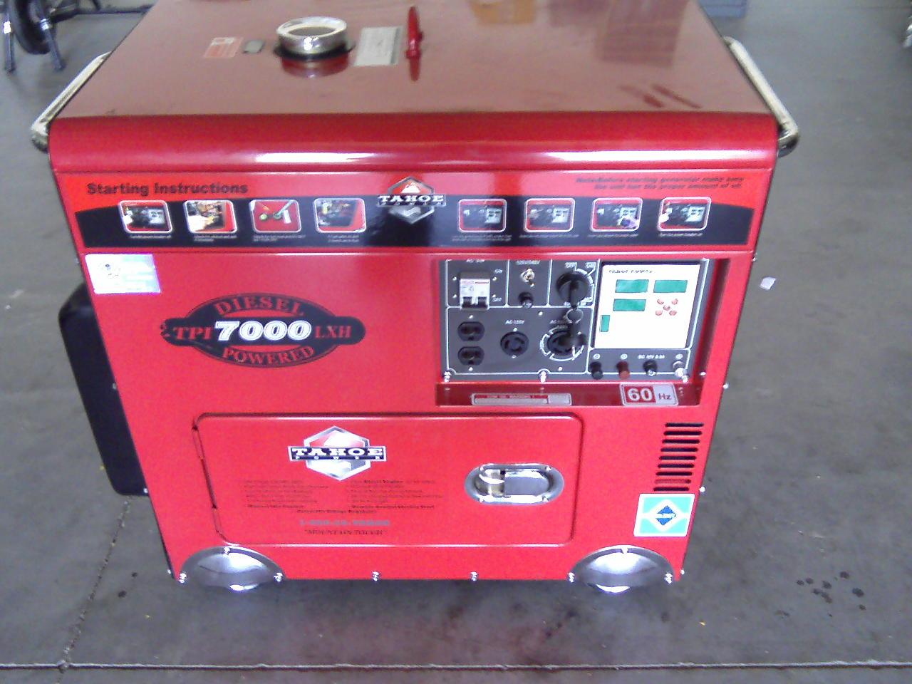 Tahoe Generator Wiring Diagram Just Another Blog Home Cart Mounted Engine Powered Generators Rh Wikco Com Control Panel