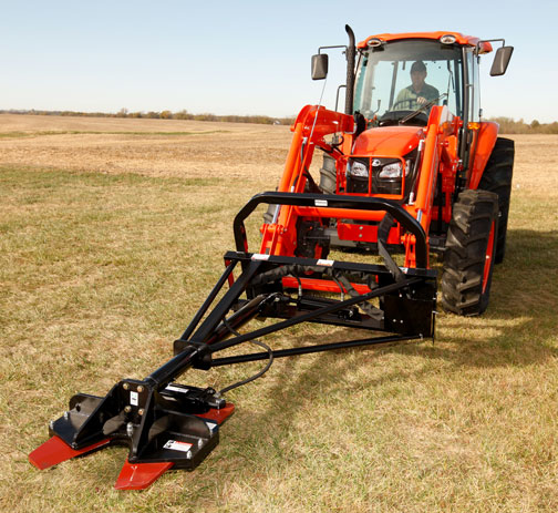 Tractor Mounted Brush Cutter : Loader three point hitch mounted hydraulic tree cutters