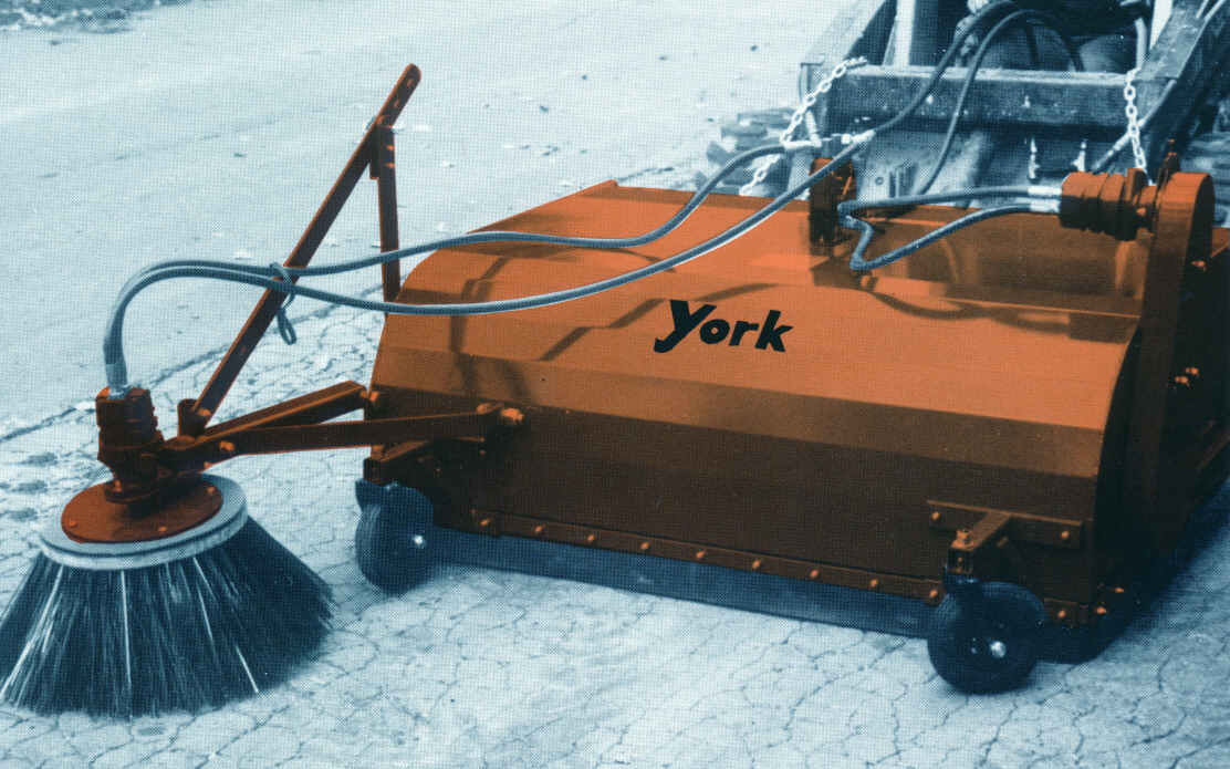 York Model SSPU Loader Mounted Sweeper