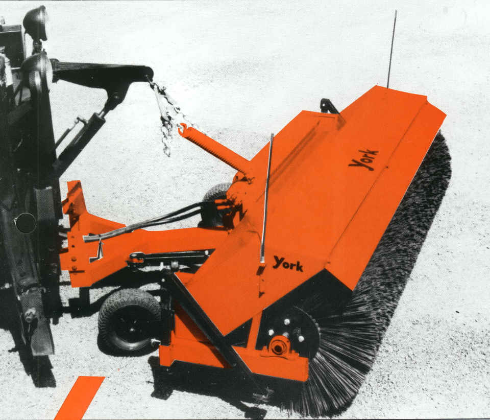 York TFB Front Truck Mount Sweeper