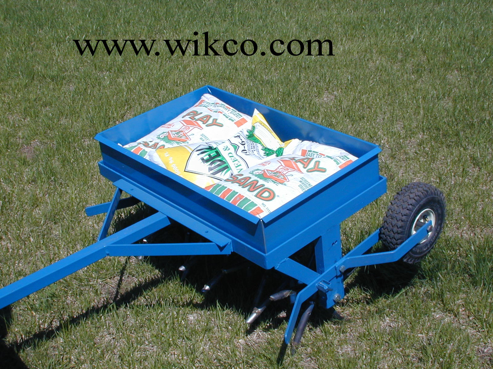 Wikco 30 Inch Wide Tow Behind Core Plug Aerator