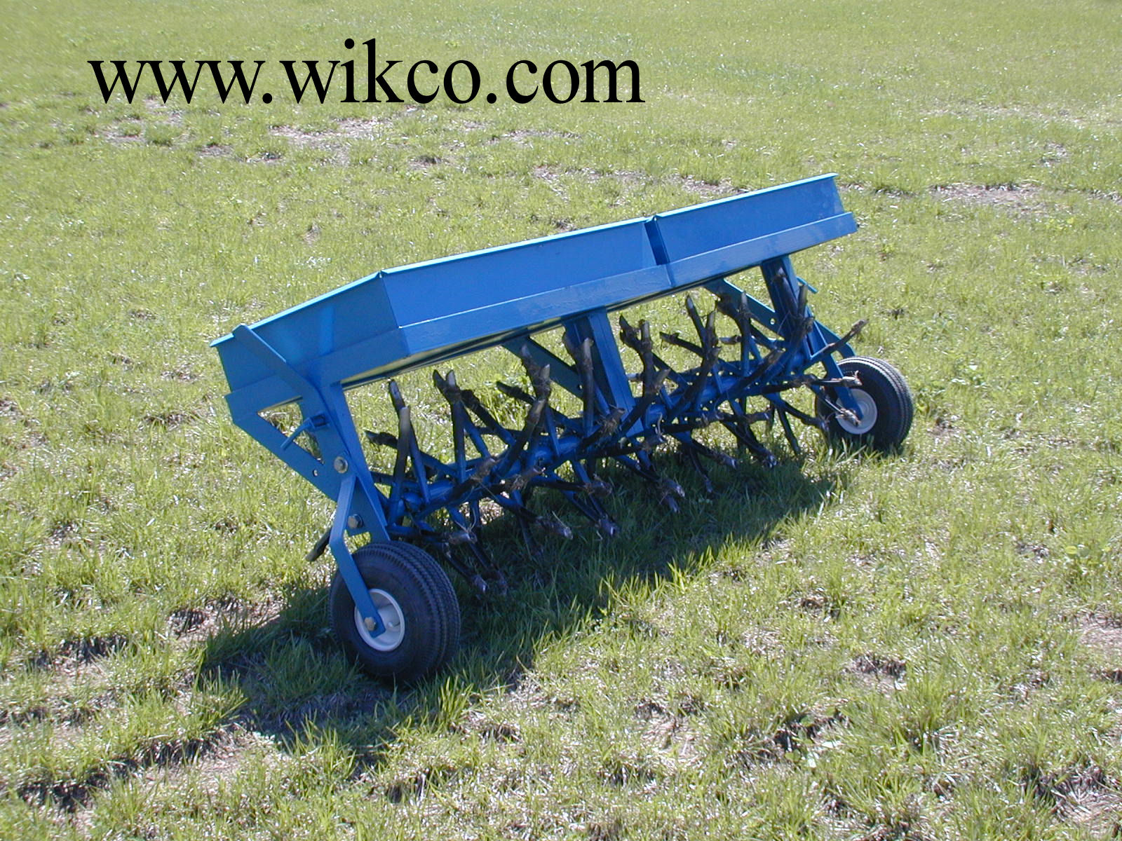 Wikco 60 Inch Wide Tow Behind Lawn Aerator