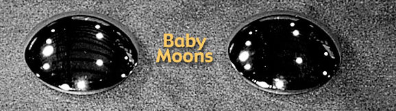 Baby Moon Hubcaps For 8 Inch Trailer Wheels