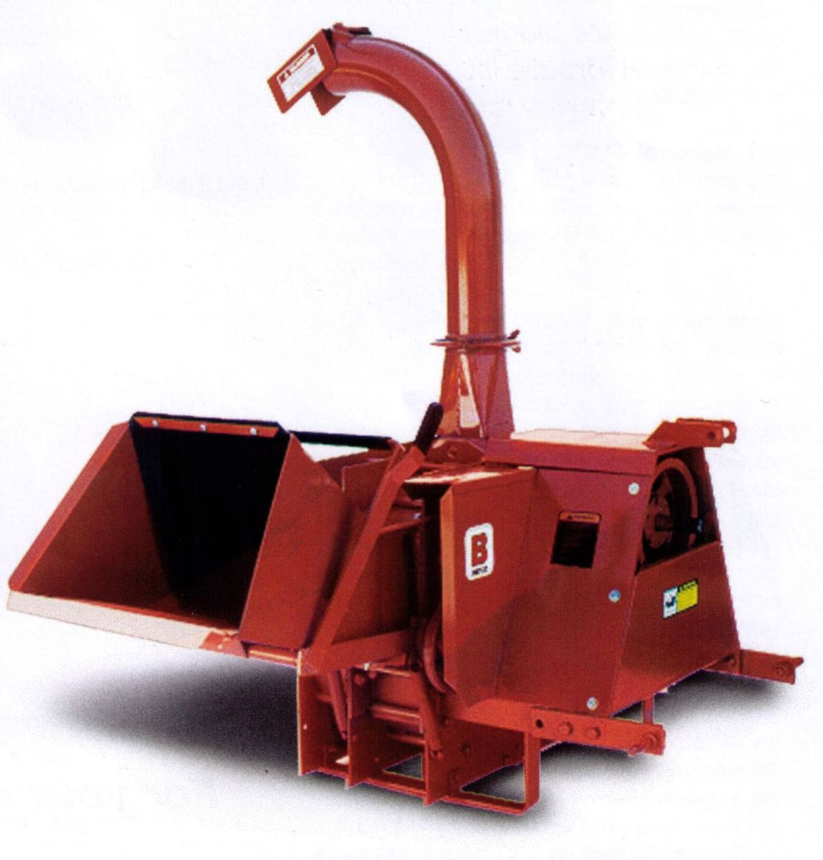 Befco Brush Chipper With Mechanical Drive Feed Rollers