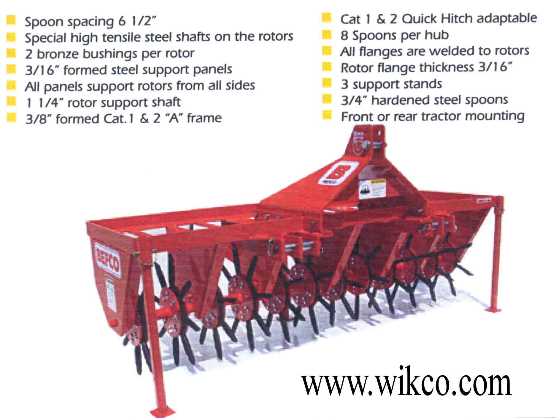 Heavy-Duty Series For 25-75 HP Tractors